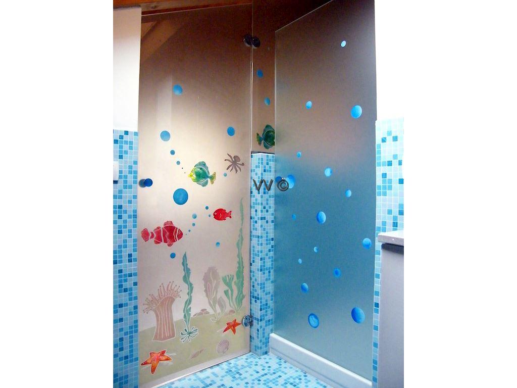 Acquario porte in vetro vetri d 39 arredo vetreria for Porte d arredo in vetro